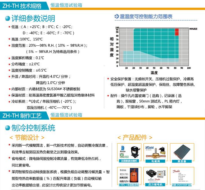 蓝色烤漆林肯娱乐平taiheng湿试验箱技术参数介绍图