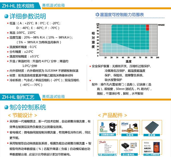 不xiu钢高低wen试验xiang详细参数及规格说明